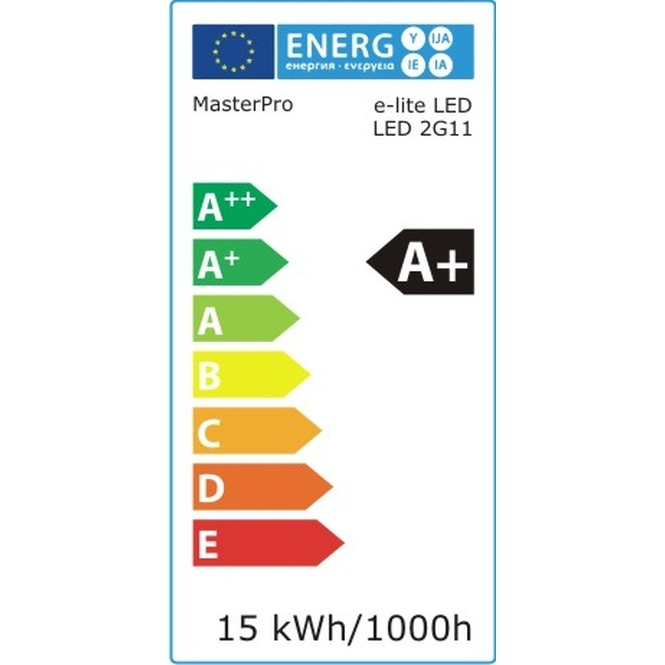 LED Lampe 2G11 15W 32cm 1600lm 4000K | eLITe